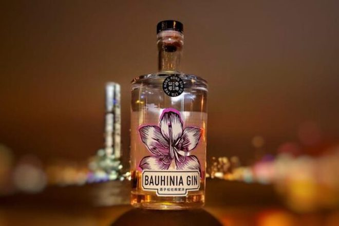 Christmas food gifts Bauhinia Gin