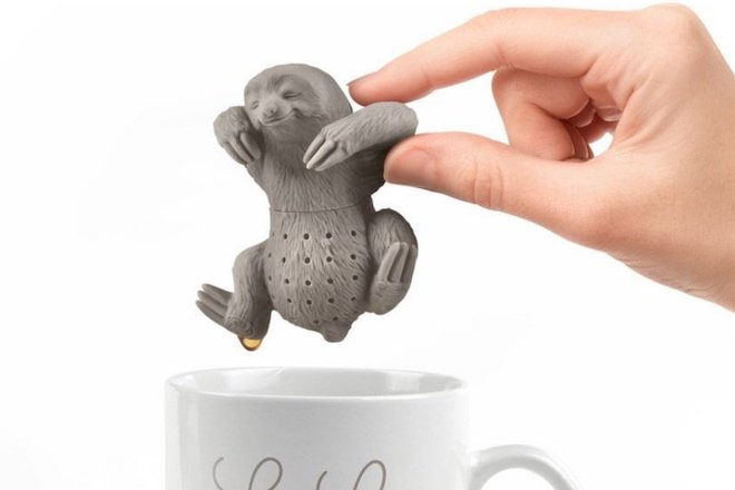 Christmas food gifts nigiri sloth tea infuser