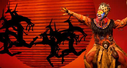 Mukelisiwe Goba as Rafiki and the North American Tour Company - THE LION KING - Photo by Joan Marcus © Disney