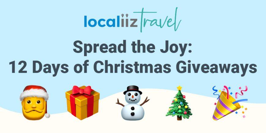 Localiiz Travel Christmas giveaway