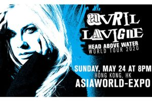 avril lavigne head above water hong kong concert 2020