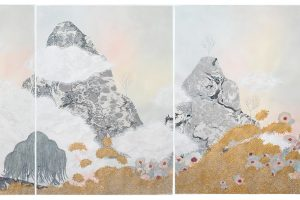 2-Crystal Liu_the fog, _all I have__Gouache, Watercolor, Ink and Collage on Paper (1)
